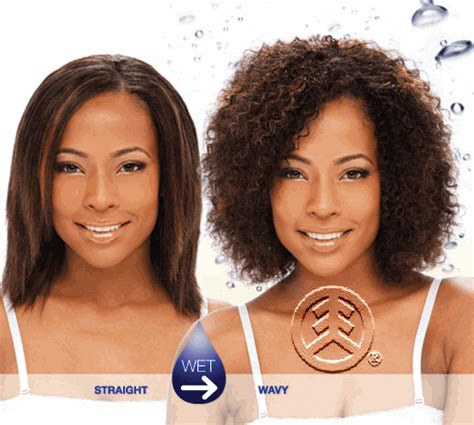 african american wet n wavy hairstyles milky way wet wavy 100 human hair indian water weave 8 quot