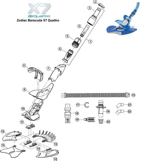 baracuda g3 parts diagram zodiac baracuda parts images