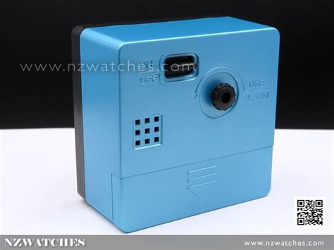 Blue Bedside L by Buy Seiko Qhe091l Blue Analogue Bedside Beep Alarm Clock