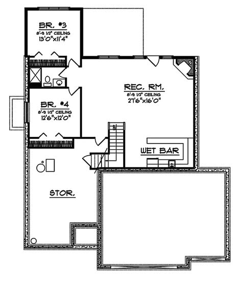 brick home floor plans benoist traditional brick home plan 051d 0334 house