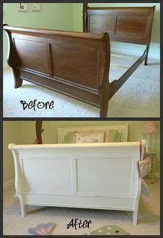 painting a pine bed frame 1000 ideas about sleigh bed painted on sleigh