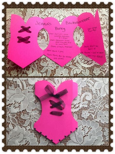 diy bachelorette diy bachelorette invitations ideas