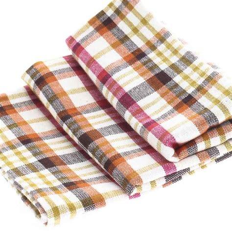 Kitchen Towels by Cheery Madras Plaid Cloth Dish Towel Kitchen Towels