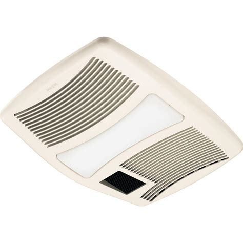 Qtx Series Very Quiet 110 Cfm Ceiling Exhaust Fan With Ceiling Exhaust Fan With Light And Heater
