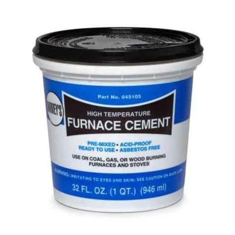 1 qt furnace cement