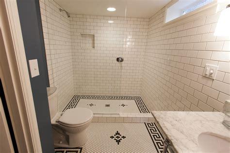 Bathroom Work by Tangent Construction Inc Bathroom Tile Work
