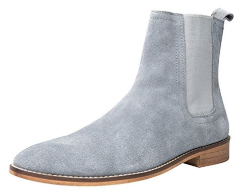 chelsea boots suede casual dress boots ankle boots