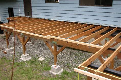 Patio Joist Deck Rebuild
