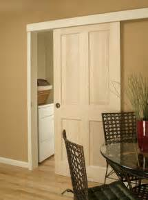 Using Barn Wood For Interior Walls Ingenious Door Sliding System For Saving Valuable Space In