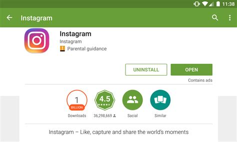 Play Store Instagram Instagram Reaches 1 Billion Installs On The Play Store