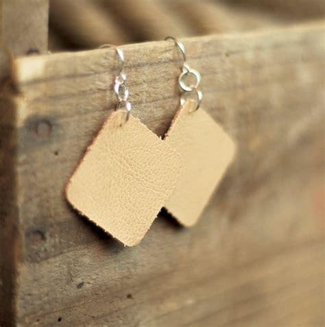 Faux Leather Earring faux leather earrings shaped earrings sterling