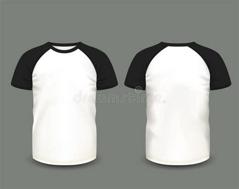 mens raglan  shirt  front   views vector