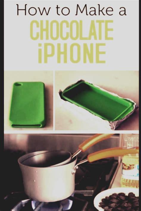 where can i get a rubber st made how to make a chocolate i phone trusper