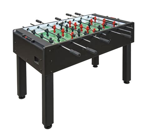 standard foosball table size shelti foos 200 black foosball table gametablesonline com