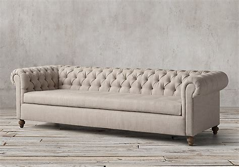 Chesterfield Sofa Restoration Hardware Secrets Of The Sofa What Makes A 10k Sofa Worth The Splurge