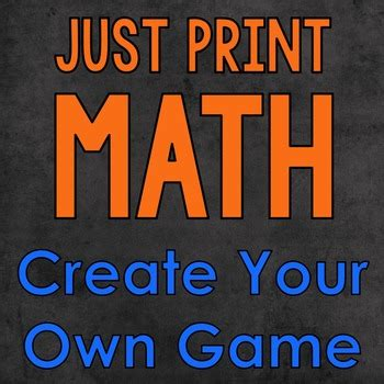 math game project  print   science penguin