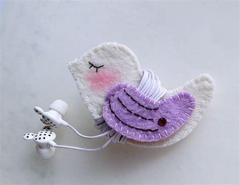 Goodie Bag Busur Kombinasi Wings 2 purple wing bird earphones winder from s handmade