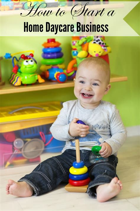 Starting A Small Home Daycare How To Start A Home Daycare Business A Spark Of Creativity