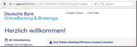deutsche bank kontostand abfragen phishing mail sperrung ihres girokontos sofortiges