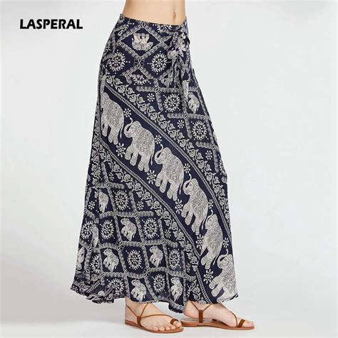 ᗐlaspearl bohemian hippie skirt ჱ elephant elephant