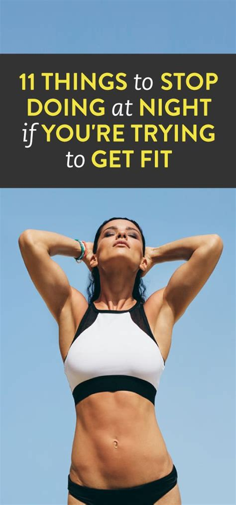 5 Things To Inspire You To Get Fit Now by Zanglezowa 11 Things To Stop Doing At If You Re