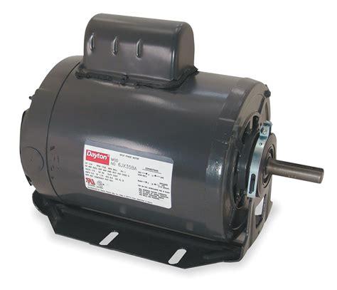 purpose of a motor start capacitor dayton capacitor start general purpose motor 6k346