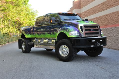 Ford F650 Truck by Show N Tow 2007 Ford F 650 When Really Big Is Not Quite