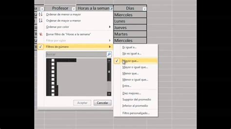 tutorial en excel 2010 tutorial filtros en excel 2010 youtube
