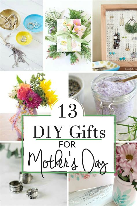 Handmade Gifts For Mothers Birthday - special gifts for 13 handmade gift ideas the