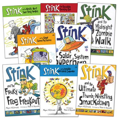 steunk books the adventures of stink book series