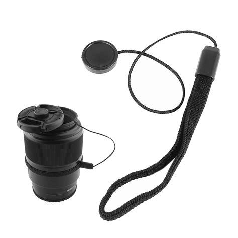 Lens Cap Keeper Penjaga Tutup Lensa Kamera Anti Hilang tali tutup lensa kamera anti lost lens cap black jakartanotebook