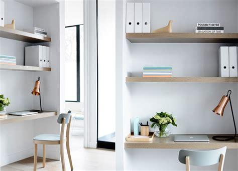 Deco Deco Petit Deco Study 20 inspirations pour un petit bureau joli place