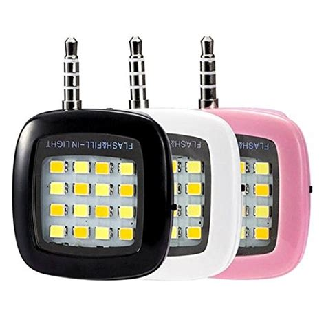 Lu Led Flash Light Mobil Buy Maxxlite Led Selfie Flash Light For Mobile Phone Black