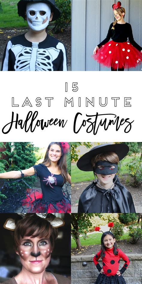 minute halloween costumes yesterday  tuesday