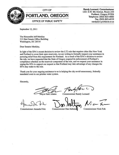 Request Letter To Municipality how to write a letter to congress format settlement