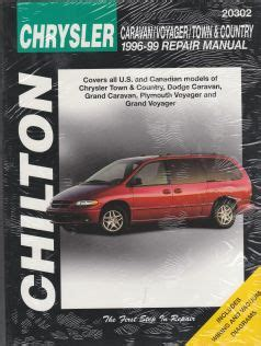 best car repair manuals 1999 chrysler 300 free book repair manuals 1996 1999 chrysler town country caravan grand voyager grand chilton manual