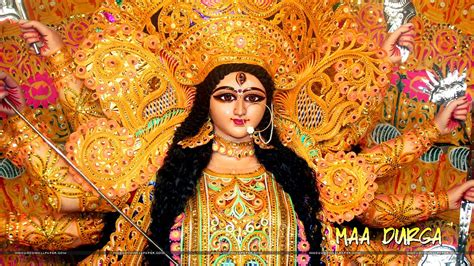 wallpaper desktop goddess durga durga puja hd wallpaper for desktop free download maa