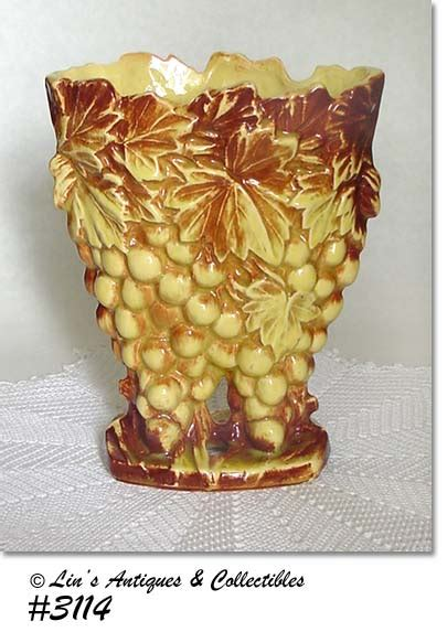 Mccoy Grape Vase by Page 2