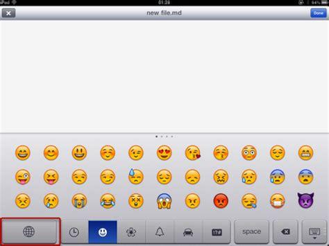 tutorial emoji keyboard how to add an emoji keyboard to your ipad elaine giles