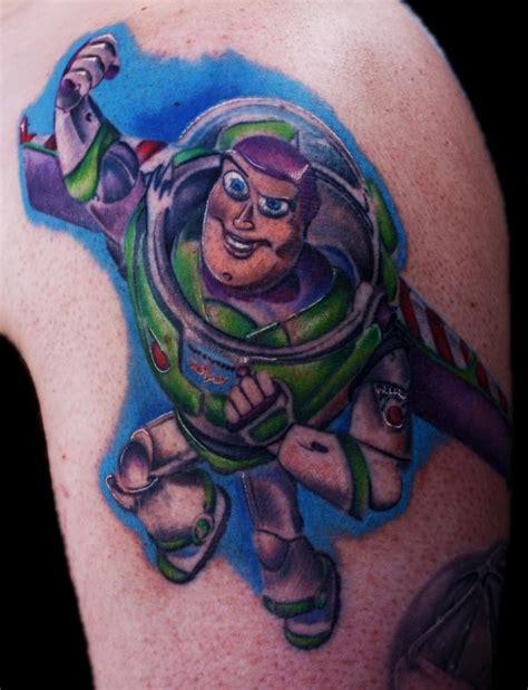 buzz lightyear tattoo buzz lightyear by justin mariani tattoonow