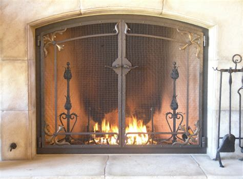 custom fireplace screen custom fireplace screens screens handcrafted by