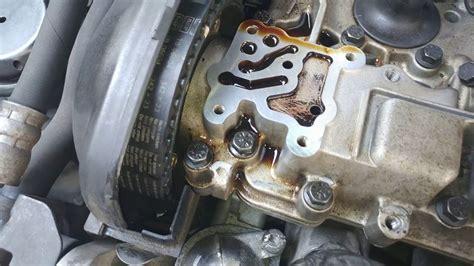 volvo vvt zawor faz zmiennych czujnik sprawdzenie czyszczenie vvt valve volvo check clean