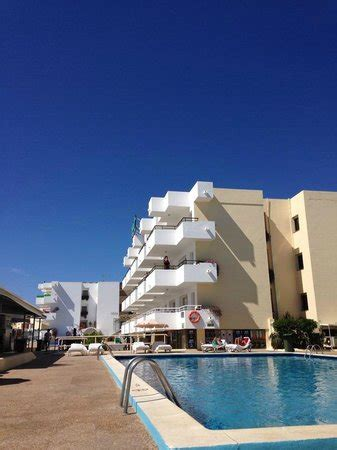 jet appartments ibiza the hotel from the pool picture of ibiza jet apartments