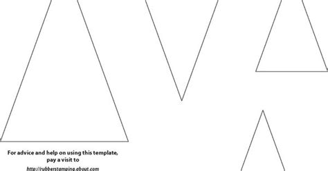 triangle template for christmas tree easy and handmade cards using a triangle theme triangle template triangles and