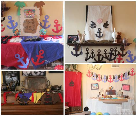 Pirate Home Decor Diy Pirate Birthday Decorations Diy Pirate Birthday Decorating Ideas
