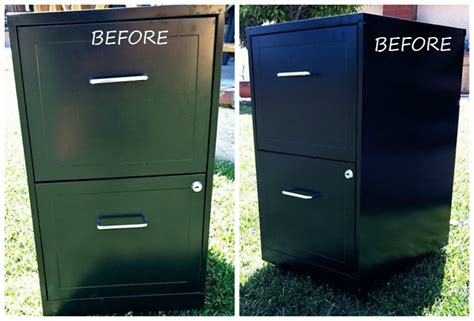 Paint Metal File Cabinet by Excellent Makeover Metal File Cabinets Home Design By Fuller