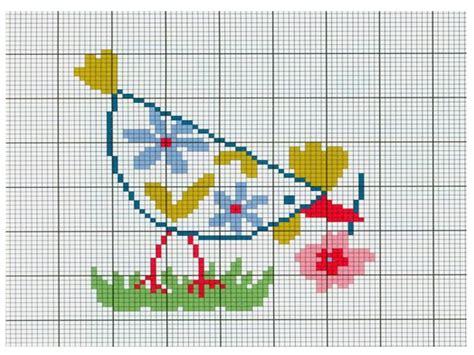 lettere da ricamare punto croce punto croce galline da ricamare