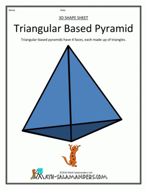 How To Make A 3d Triangular Pyramid Out Of Paper - pattern shapes and symmetry in our world process