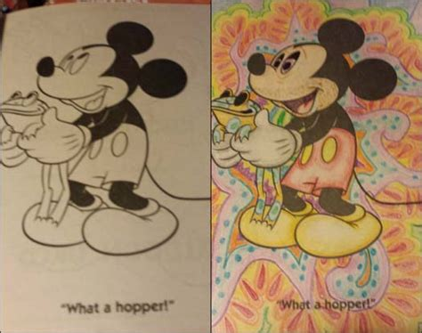 coloring book corruptions disney these 23 coloring book corruptions might destroy your