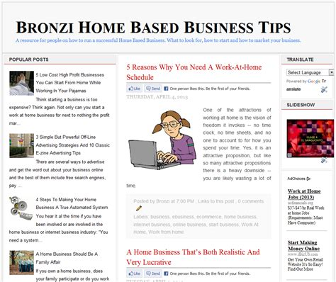 bronzi home based business tips bronzi home based